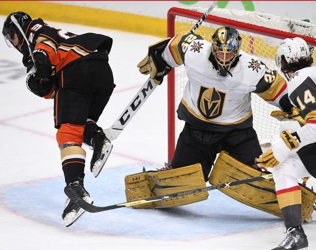 Anaheim Ducks vs Vegas Golden Knights NHL Picks, Odds, Predictions 4/24/21