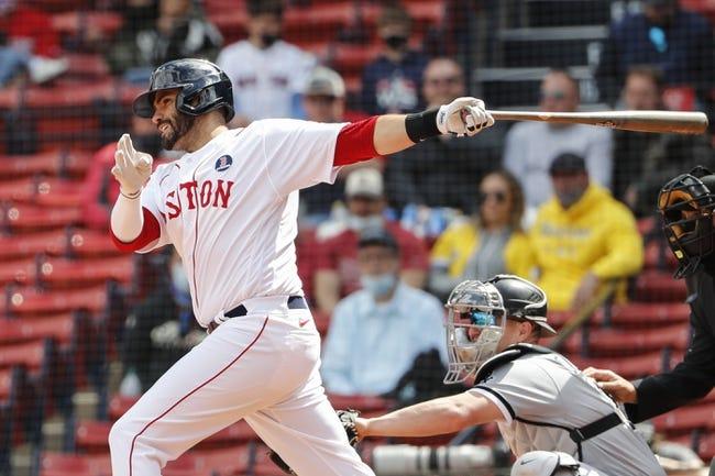 Toronto Blue Jays at Boston Red Sox 4/20/21 MLB Picks and Predictions