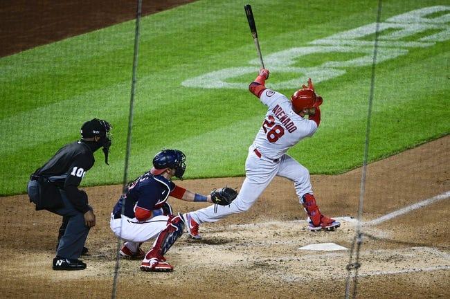 St. Louis Cardinals at Washington Nationals - 4/20/21 MLB Picks and Prediction