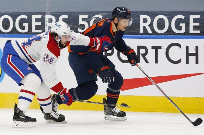 Montreal Canadiens at Edmonton Oilers - 4/21/21 NHL Picks and Prediction