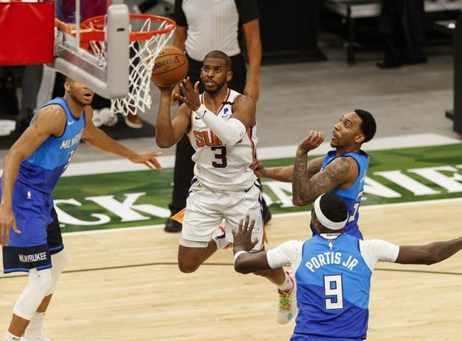 Milwaukee Bucks at Phoenix Suns - 7/6/21 NBA Picks and Prediction