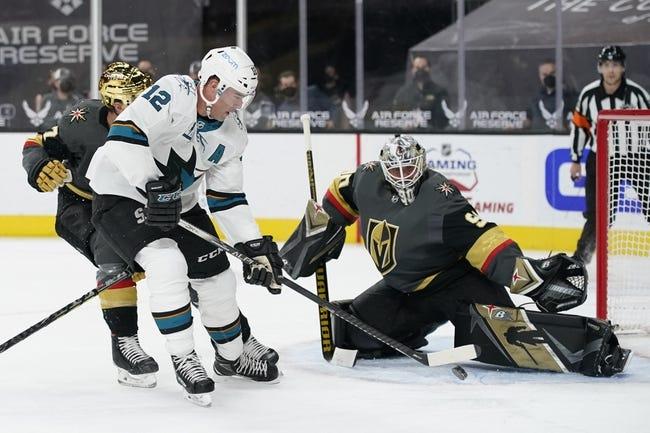 San Jose Sharks at Vegas Golden Knights - 4/21/21 NHL Picks and Prediction