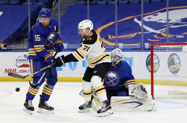 Boston Bruins at Buffalo Sabres - 4/22/21 NHL Picks and Prediction