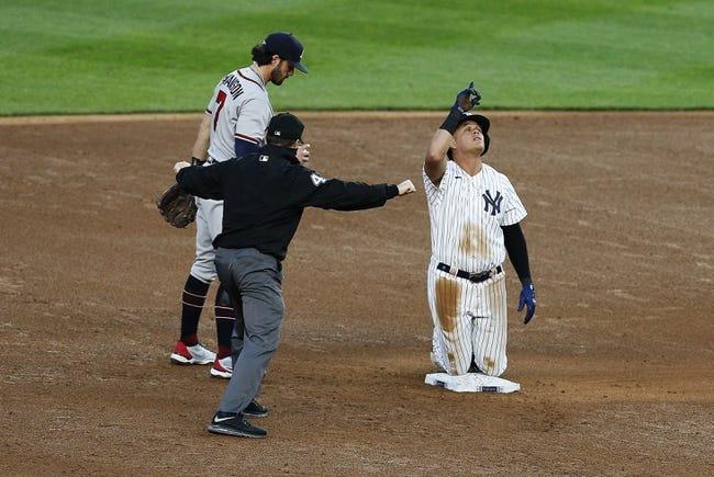 Atlanta Braves at New York Yankees - 4/21/21 MLB Picks and Prediction