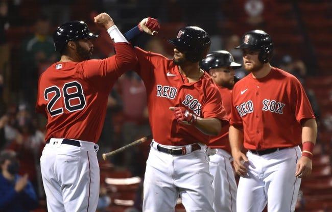 Toronto Blue Jays at Boston Red Sox 4/21/21 MLB Picks and Predictions