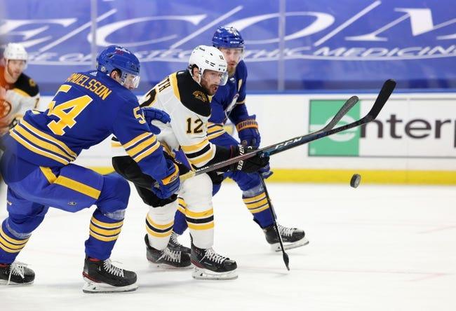 Buffalo Sabres vs Boston Bruins NHL Picks, Odds, Predictions 4/22/21