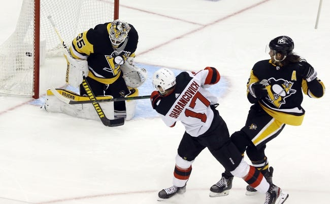 New Jersey Devils at Pittsburgh Penguins - 4/22/21 NHL Picks and Prediction