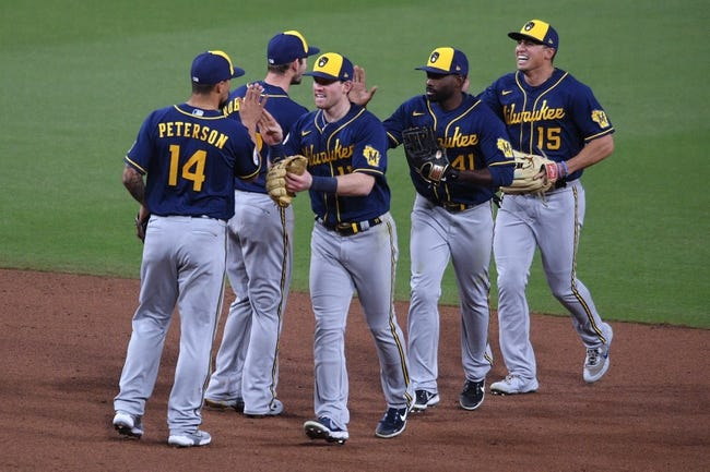Milwaukee Brewers at San Diego Padres - 4/21/21 MLB Picks and Prediction