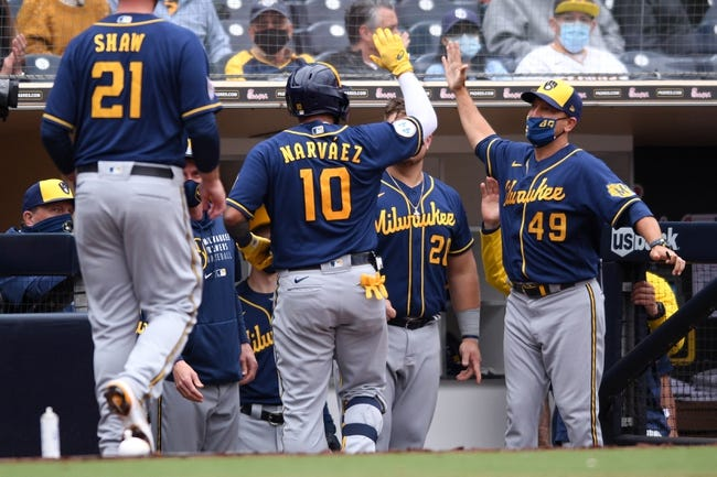 Milwaukee Brewers at Chicago Cubs - 4/23/21 MLB Picks and Prediction