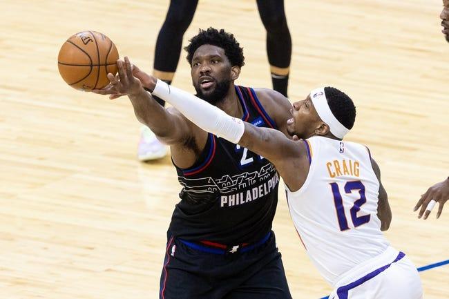 Philadelphia 76ers at Milwaukee Bucks - 4/22/21 NBA Picks and Prediction