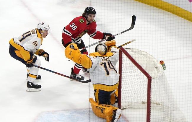 Chicago Blackhawks vs Nashville Predators NHL Picks, Odds, Predictions 4/23/21