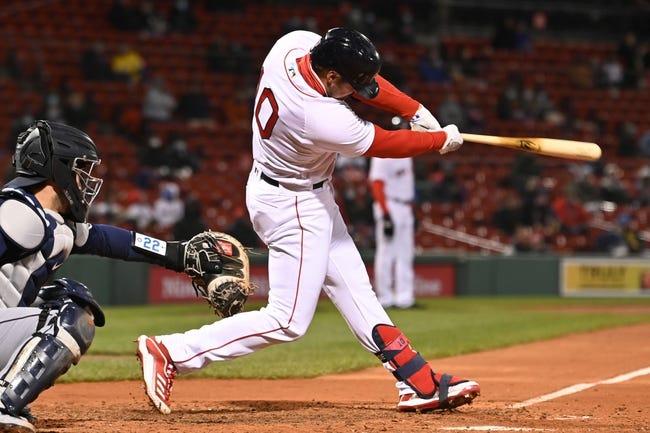 Seattle Mariners at Boston Red Sox - 4/23/21 MLB Picks and Prediction