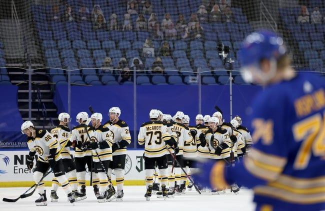 Buffalo Sabres vs Boston Bruins NHL Picks, Odds, Predictions 4/23/21