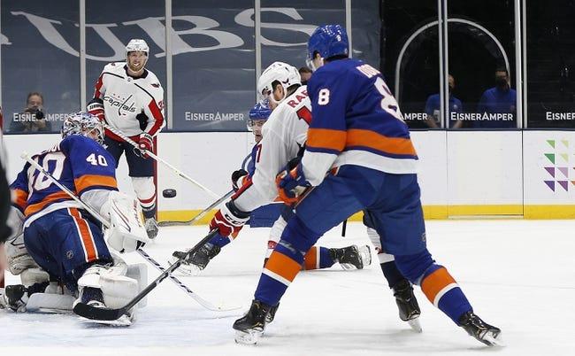 Washington Capitals at New York Islanders - 4/24/21 NHL Picks and Prediction