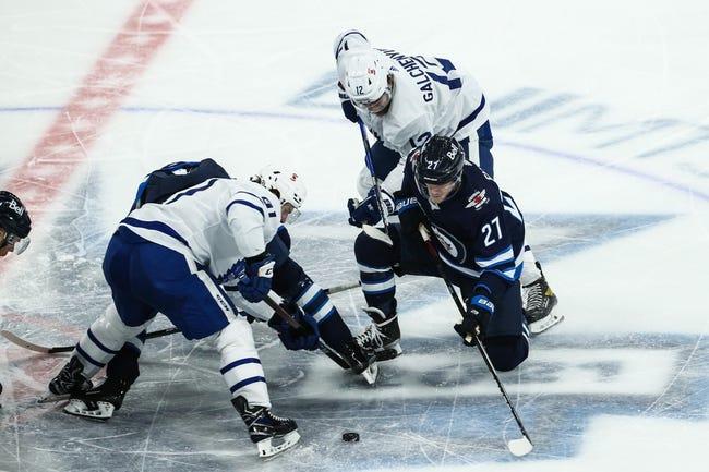 Toronto Maple Leafs at Winnipeg Jets - 4/24/21 NHL Picks and Prediction