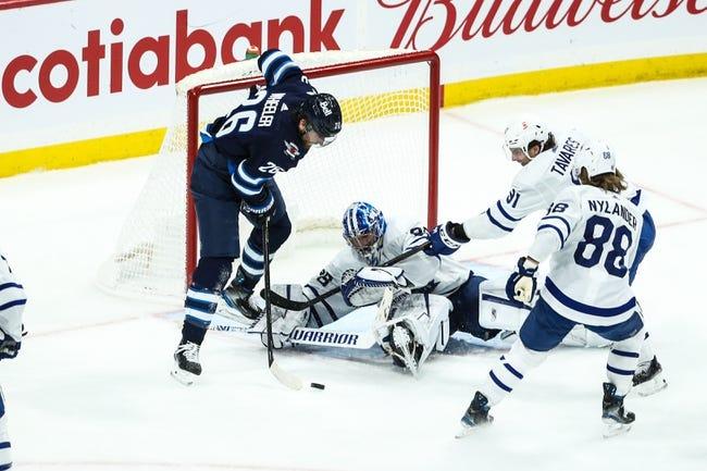 Winnipeg Jets vs Toronto Maple Leafs NHL Picks, Odds, Predictions 4/24/21