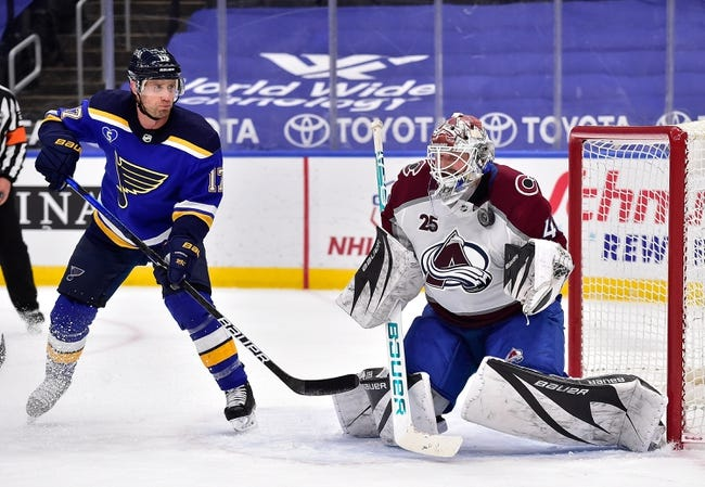 St. Louis Blues vs Colorado Avalanche NHL Picks, Odds, Predictions 4/24/21