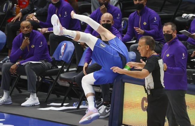 Los Angeles Lakers at Dallas Mavericks - 4/24/21 NBA Picks and Prediction