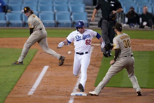 San Diego Padres at Los Angeles Dodgers 4/23/21 MLB Picks and Predictions