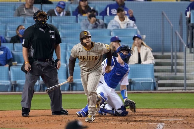 Los Angeles Dodgers vs San Diego Padres MLB Picks, Odds, Predictions 4/23/21