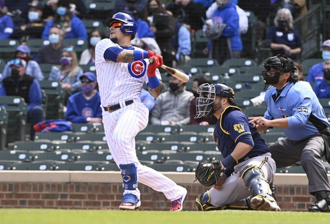 Milwaukee Brewers at Chicago Cubs - 4/24/21 MLB Picks and Prediction