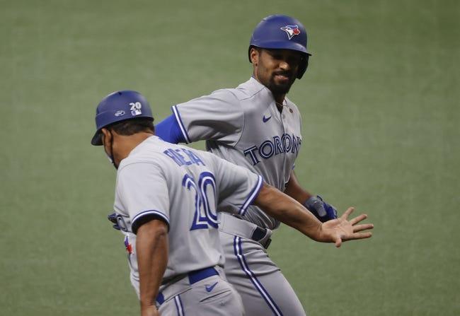 Toronto Blue Jays at Tampa Bay Rays - 4/24/21 MLB Picks and Prediction