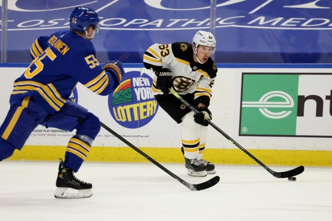 Boston Bruins vs Buffalo Sabres NHL Picks, Odds, Predictions 4/29/21