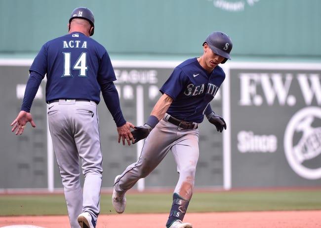 Seattle Mariners at Boston Red Sox - 4/25/21 MLB Picks and Prediction