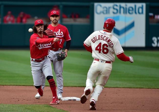Cincinnati Reds at St. Louis Cardinals - 4/25/21 MLB Picks and Prediction