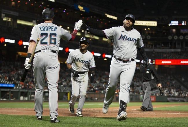 Miami Marlins at San Francisco Giants - 4/25/21 MLB Picks and Prediction