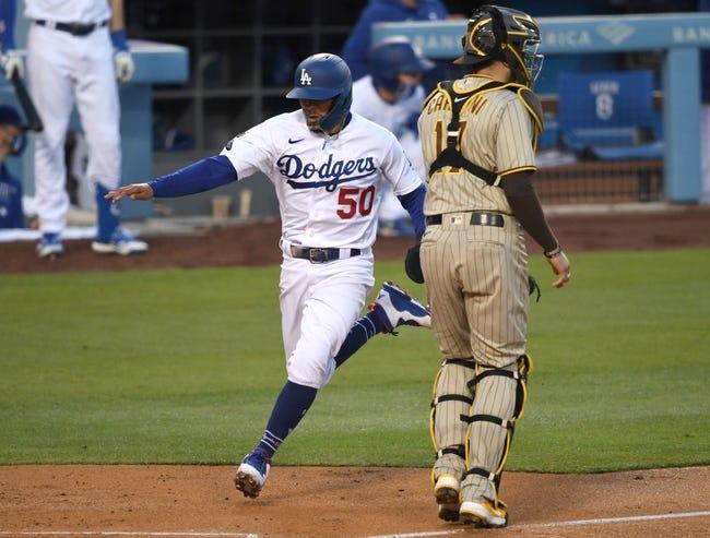 San Diego Padres at Los Angeles Dodgers - 4/25/21 MLB Picks and Prediction