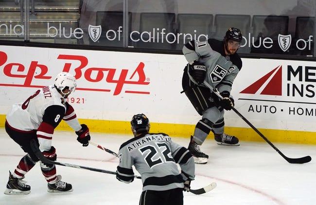 Arizona Coyotes vs Los Angeles Kings NHL Picks, Odds, Predictions 5/3/21