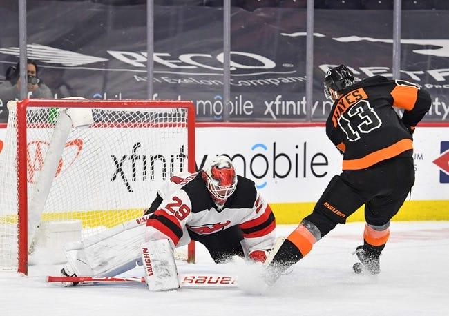New Jersey Devils vs Philadelphia Flyers NHL Picks, Odds, Predictions 4/29/21