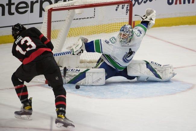 Ottawa Senators vs Vancouver Canucks NHL Picks, Odds, Predictions 4/28/21
