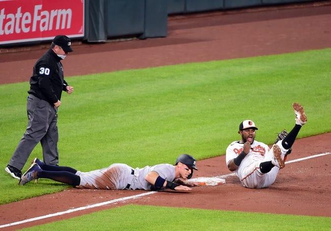 Baltimore Orioles vs New York Yankees MLB Picks, Odds, Predictions 4/27/21