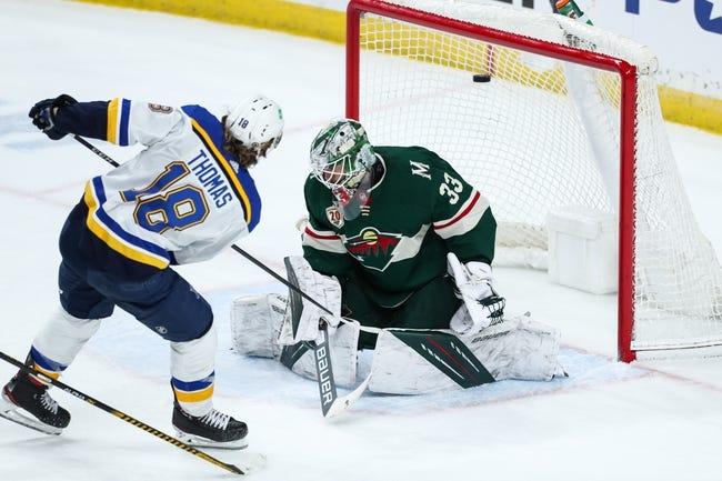 Minnesota Wild vs St. Louis Blues NHL Picks, Odds, Predictions 4/29/21