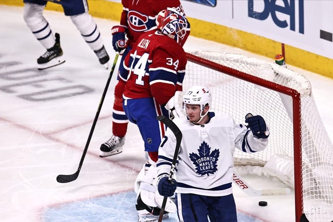 Montreal Canadiens vs Toronto Maple Leafs NHL Picks, Odds, Predictions 5/3/21
