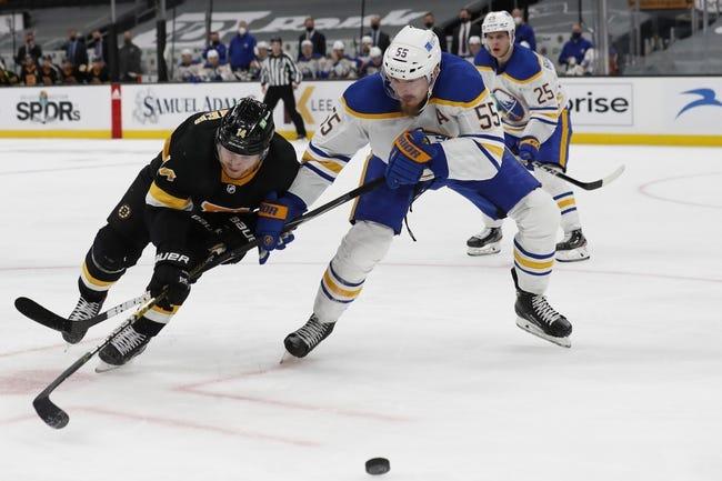 Boston Bruins vs Buffalo Sabres NHL Picks, Odds, Predictions 5/1/21