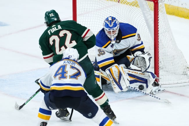 Minnesota Wild vs St. Louis Blues NHL Picks, Odds, Predictions 5/1/21