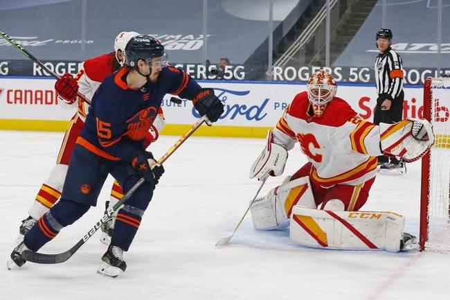 Edmonton Oilers vs Calgary Flames NHL Picks, Odds, Predictions 5/1/21
