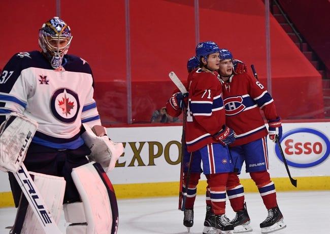 Montreal Canadiens at Winnipeg Jets - 6/2/21 NHL Picks and Prediction