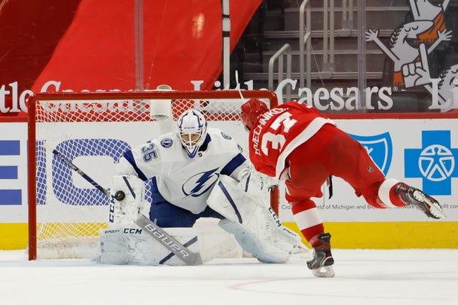 Detroit Red Wings vs Tampa Bay Lightning NHL Picks, Odds, Predictions 5/2/21