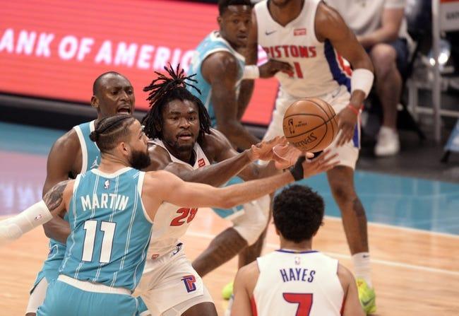 Detroit Pistons vs Charlotte Hornets NBA Picks, Odds, Predictions 5/4/21