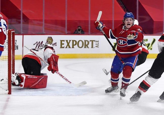 Ottawa Senators vs Montreal Canadiens NHL Picks, Odds, Predictions 5/5/21
