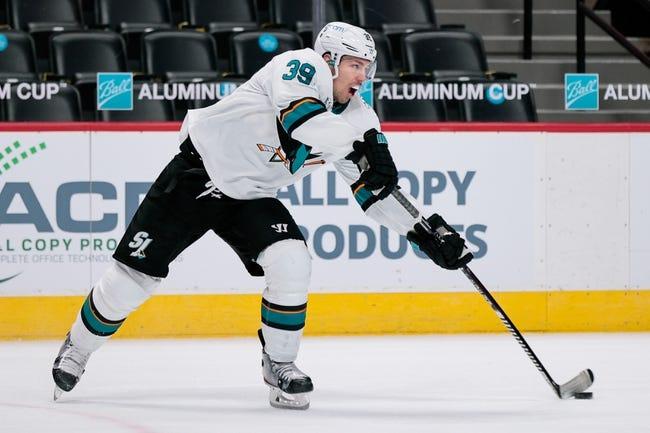San Jose Sharks vs Colorado Avalanche NHL Picks, Odds, Predictions 5/3/21