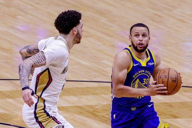 New Orleans Pelicans vs Golden State Warriors NBA Picks, Odds, Predictions 5/4/21