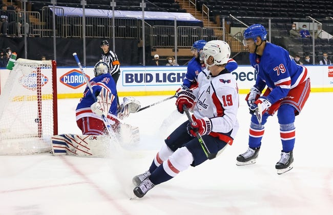 New York Rangers vs Washington Capitals NHL Picks, Odds, Predictions 5/5/21