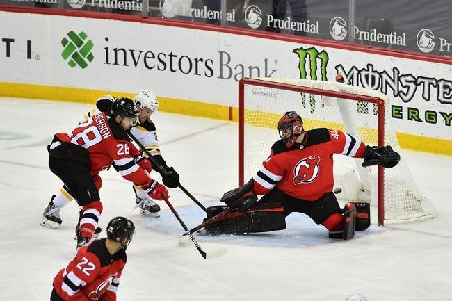 New Jersey Devils vs Boston Bruins NHL Picks, Odds, Predictions 5/4/21