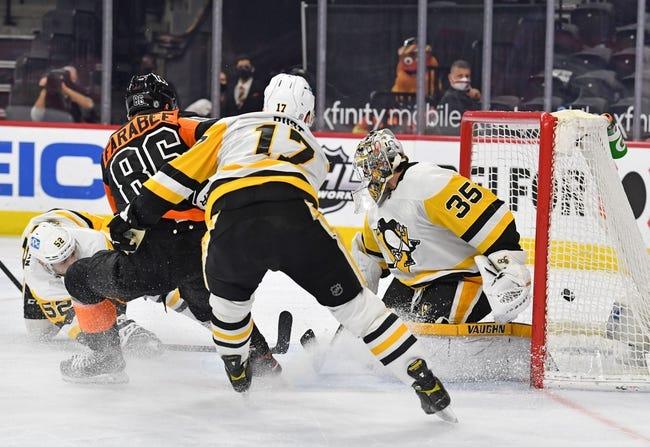 Philadelphia Flyers vs Pittsburgh Penguins NHL Picks, Odds, Predictions 5/4/21