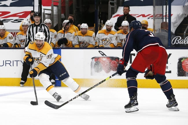 Columbus Blue Jackets vs Nashville Predators NHL Picks, Odds, Predictions 5/5/21
